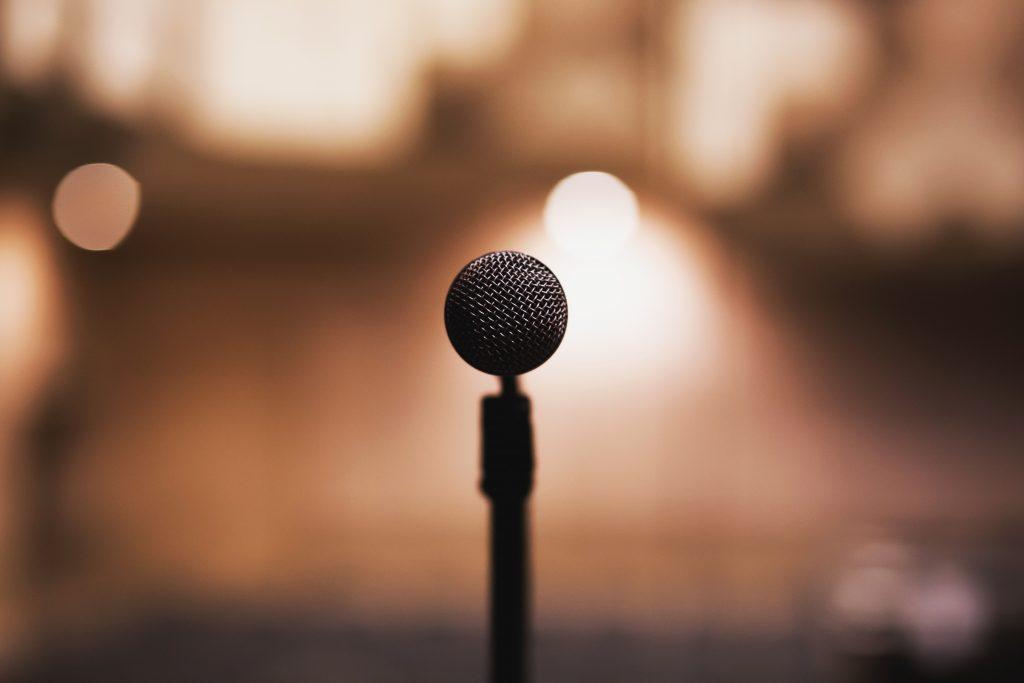 I professional microphone